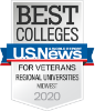 Icon - Best Colleges | U.S. News & World Report | For Veterans Regional Colleges Midwest 2020