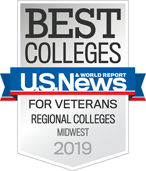 Icon - Best Colleges | U.S. News & World Report | For Veterans Regional Colleges Midwest 2019